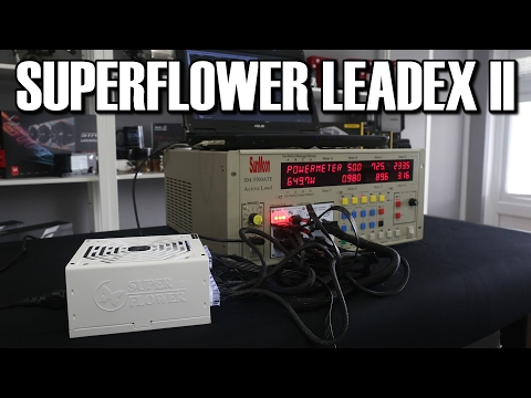 Superflower leadex Gold II 650W PSU Review & Load Testing