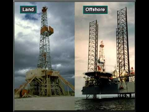 Types of land & offshore drilling rigs