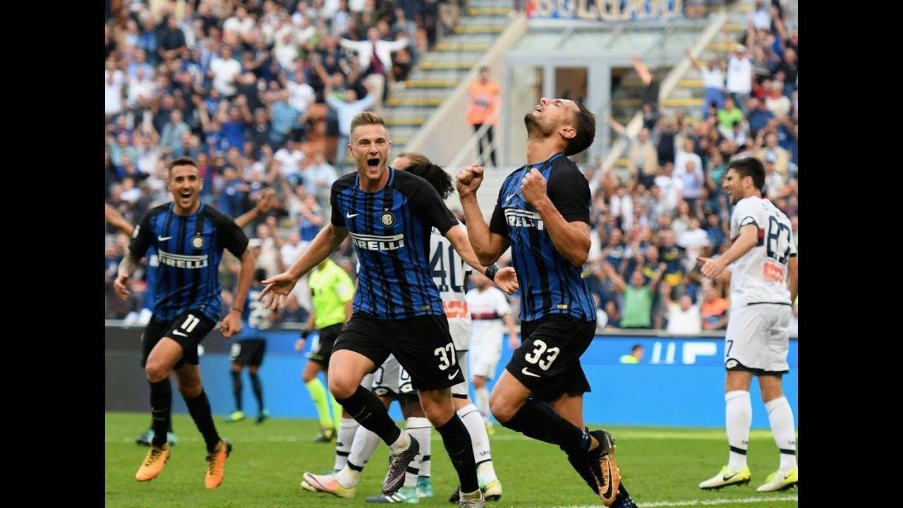 Inter Milan vs Genoa 1-0 All Goals 2017/18 HD - YouTube