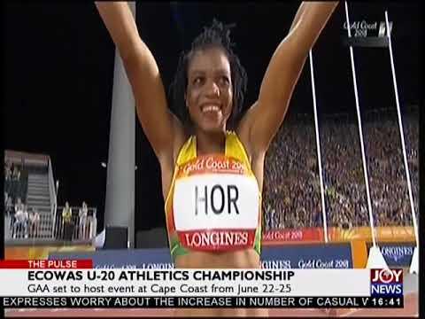 ECOWAS U-20 Athletics Championship - The Pulse Sports on JoyNews (26-4-18)