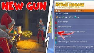 Dumb Scammer Loses Modded MYTHIC HEMLOCK! (Scammer Gets Scammed) Fortnite Save The World