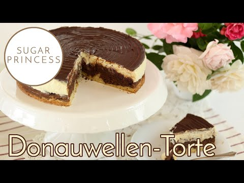 Sugarprincess: Super leckere vegane Donauwellen-Torte | Rezept und Video