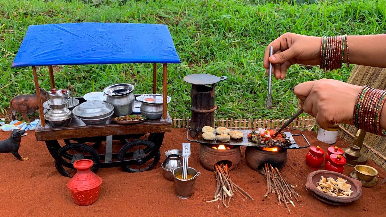 Miniature Egg Kothu Parotta | Miniature Parotta Shop | பரோட்டா | Most Famous Street Food | Paratha