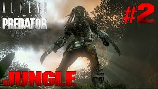 AVP Aliens vs Predator NIGHTMARE Predator Mission 2: Jungle | Gameplay Walkthrough