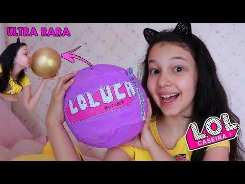 ABRINDO BIG LOL CASEIRA | Luluca