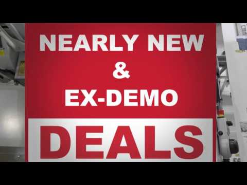 EX DEMO machine tools for sale