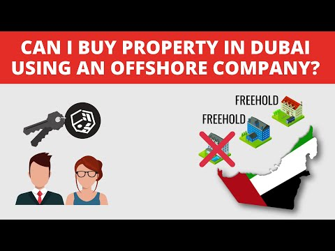 Can you buy a property in Dubai using an offshore company?