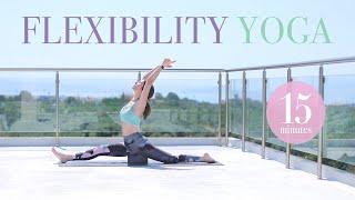 15' Yoga to increase Flexibility by Nancy Pol (4K)