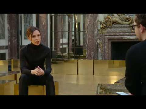 Victoria Beckham LIVE l Talking About Her New York Autumn/Winter 2018 Collection.