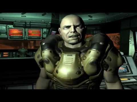 Doom 3 Walkthrough Mission 1 - Mars City (PC)