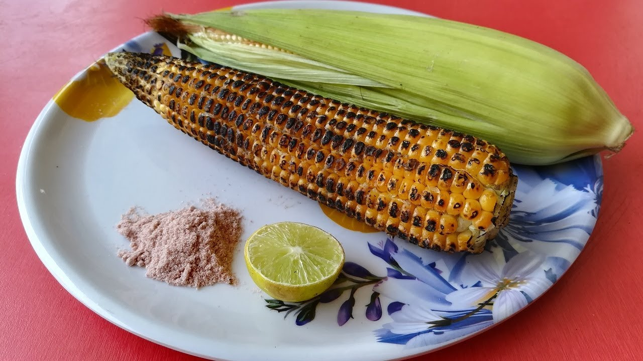 Roasted corn masala recipe in gas stove bhutta masala recipe roasted corn masala recipe in gas stove bhutta masala recipe ccuart Image collections