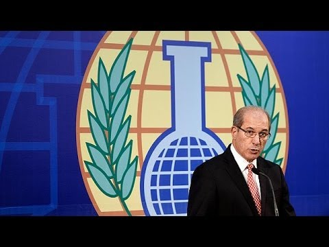 "Nobel Peace Prize winner OPCW says chemical weapons must be ""banned for good"""