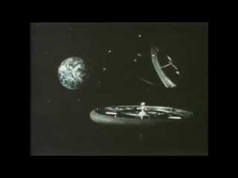 Space Colonization Stanford Torus Type Station 1970's NASA Video