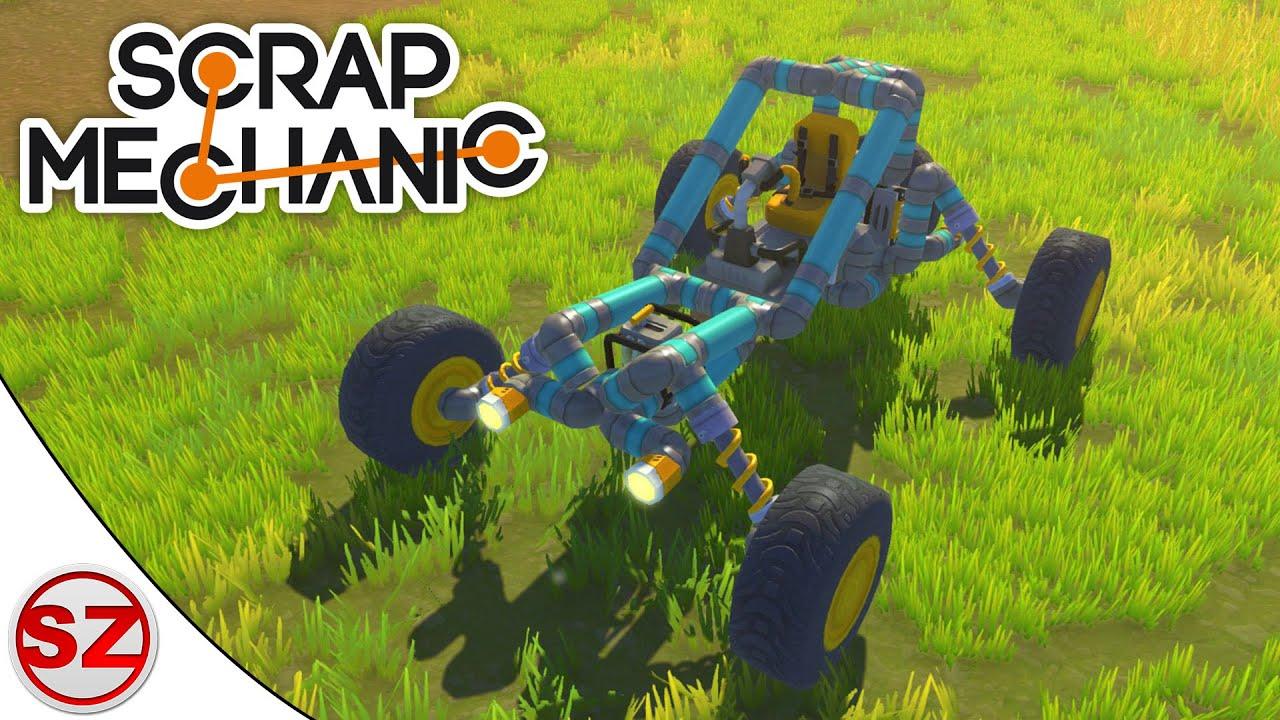 Scrap Mechanic #13 - Idealny buggy oraz wielki samochód