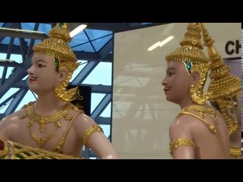 Bangkok International Airport, Suvarnabhumi Airport, Bangkok Airport Thailand, Suvarnabhumi