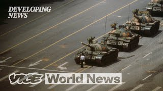 The Story Behind the Iconic 'Tank Man' Photo | Developing News