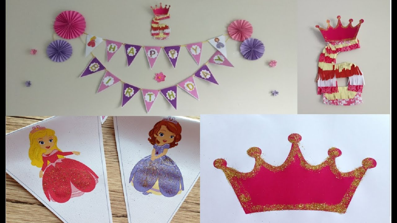 diy easy birthday party decorations with paper how to make