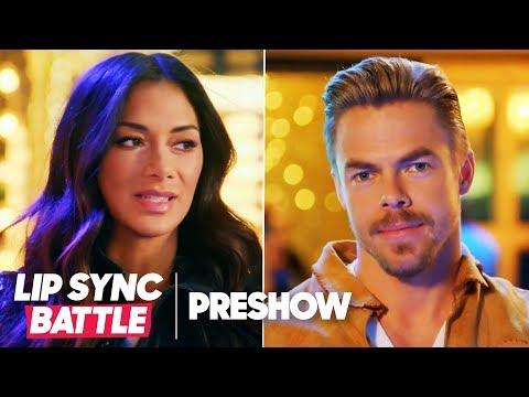 Nicole Scherzinger vs. Derek Hough  Lip Sync Battle Pre
