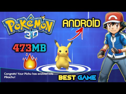 World Best Pokemon Game For Android - Download Now Amazing 3D Graphics Game - 동영상