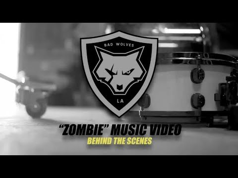 Bad Wolves - Behind The Scenes of filming 'Zombie'