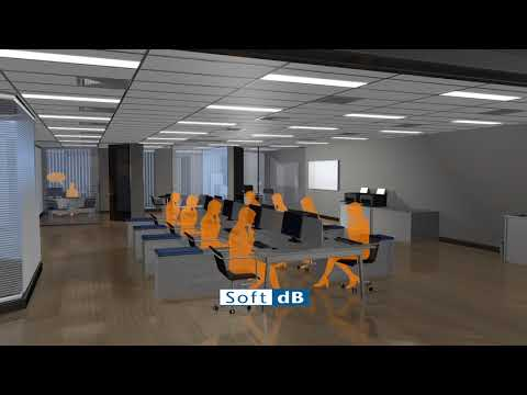 Soft DB Sound Masking System For Open And Closed Offices