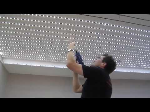 Светодиодное LED Освещение потолка.