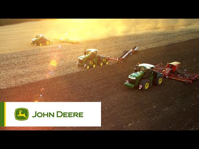 Ciągniki serii 9R w akcji | John Deere