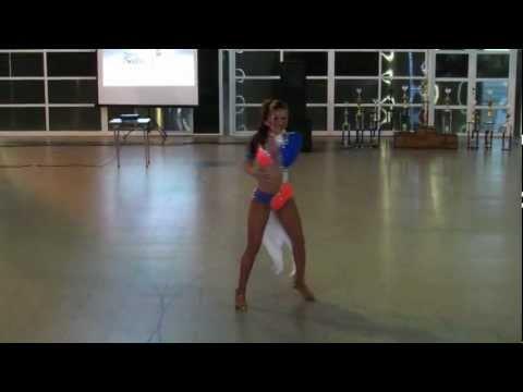Argentina Salsa Open 2013 ~ Final Solistas Femeninas ~ Gabriela Mancini - 1º