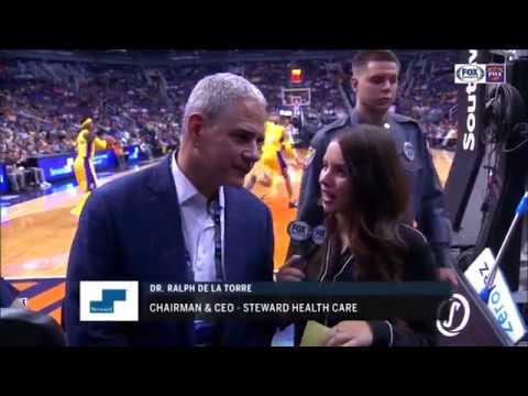 Steward Health Care Dr  Ralph De La Torre Phoenix Suns Game Interview