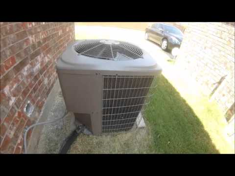 Startup of my 2007 Guardian 4 ton 13 SEER Central Air Conditioner.. Can You hear a strange noise?