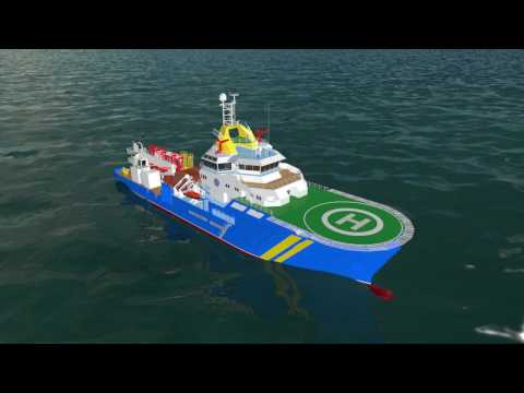 Buoy Laying & Multipurpose Offshore Vessel Indonesia Navigation Service