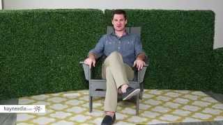 Exclusive! POLYWOOD Modern Folding Adirondack Chair - Product Review Video