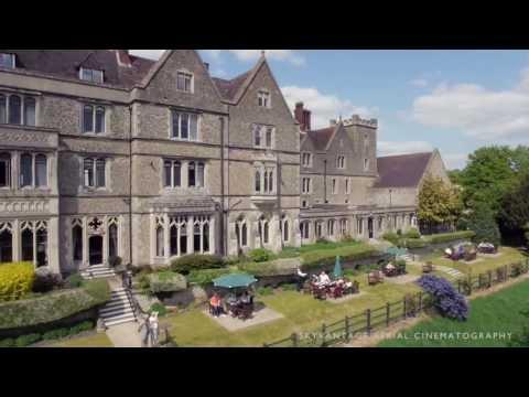 Aerial Filming Nutfield Priory | s800 Hexarotor