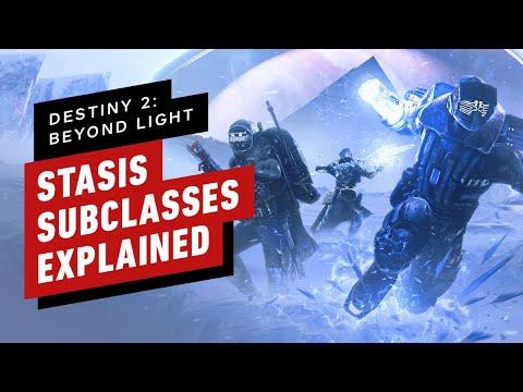 Destiny 2: Beyond Light- Stasis Subclasses Explained - IGN