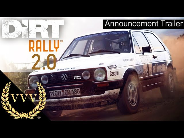 DiRT Rally 2.0 Announcement Trailer