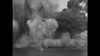 Взрыв линкора 'Барем' с последующим затоплением
