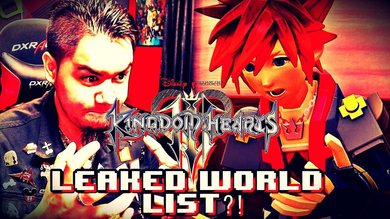 Kingdom Hearts 3 Worlds List