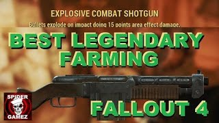 Fallout 4 - Best Legendary Farming Strategy How To Get The Explosive Shotgun In Fallout 4