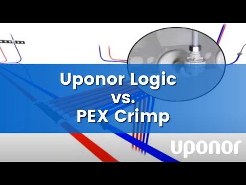 uponor logic vs pex crimp comparisons youtube. Black Bedroom Furniture Sets. Home Design Ideas