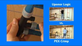 Uponor Logic vs. PEX Crimp Comparisons