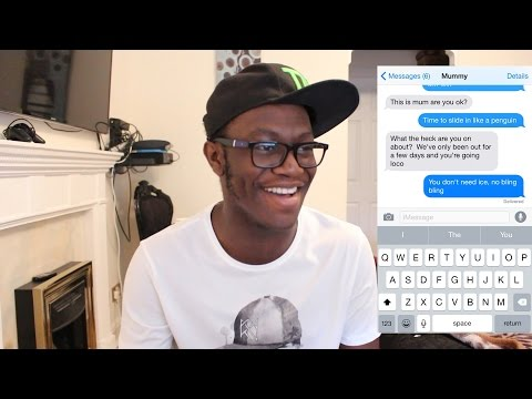 LYRIC PRANK ON MY MUM!!!