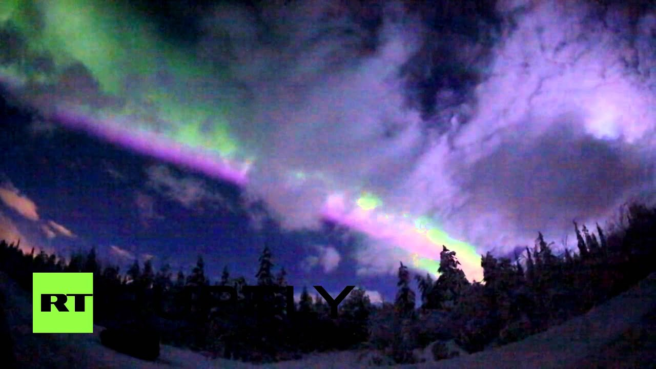 фото мурманск северное сияние