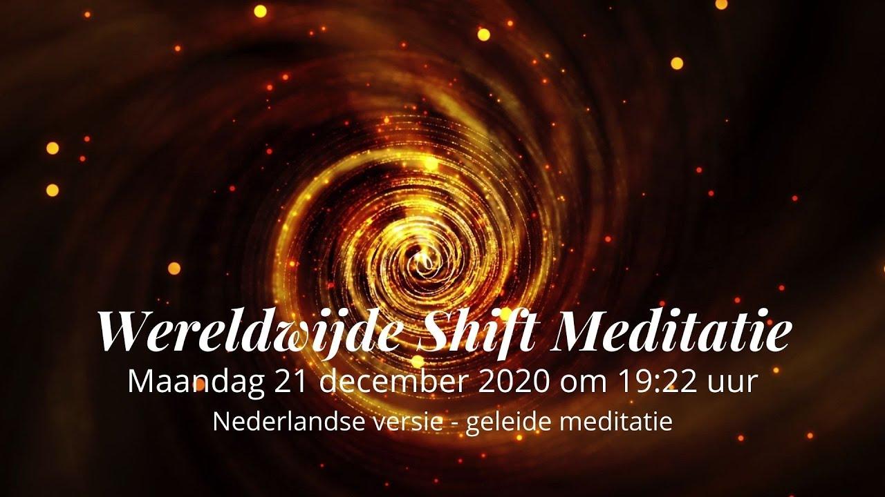 Wereldwijde Shift Meditatie 21 december 2020 - YouTube