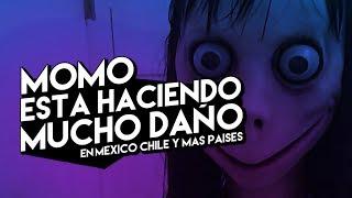 MOMO ESTA HACIENDO MUCHO DAÑO EN MEXICO, CHILE Y LATINO AMERICA