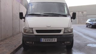 Ремонт автомобиля Ford Transit 2003, неправильная работа вентилятора отопления, не работают фанари з