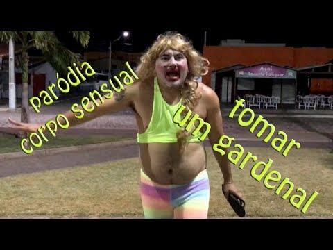 Paródia CORPO SENSUAL -Pablo Vitar - TOMAR UM GARDENAL Fuxiquinho Circo Show - Gaguinha de ilhéus
