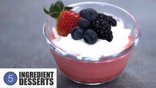Creamy Jello Dessert Cups | 5 Ingredient Desserts