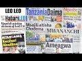 CHADEMA HOI: Magazeti ya leo Ijumaa 23/2/2018: Aquilina aliza wengi.