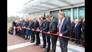 Opening ceremony of the new U.S. Embassy in the Netherlands