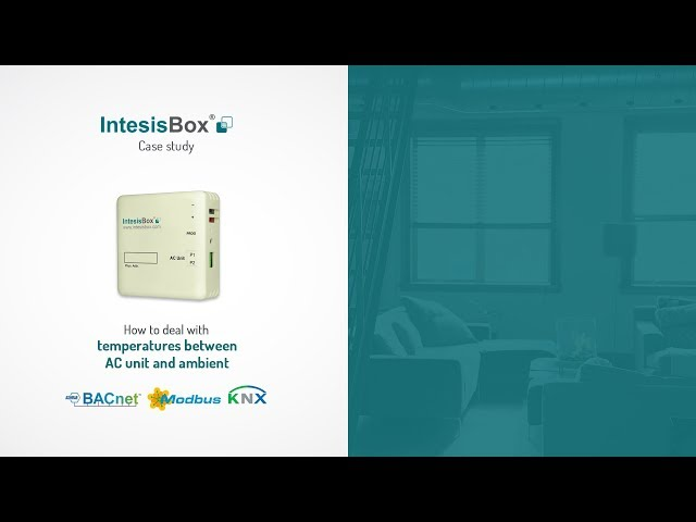 IntesisBox | How to deal with temperatures between AC unit & ambient
